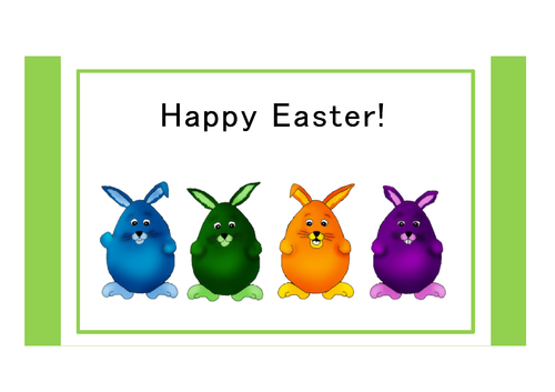 Greeting Card - Easter 1 (DIN A6)