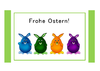 Greeting Card - Ostern 1 (DIN A6)