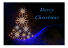 Greeting Card - Christmas Blue Tree (DIN A6)